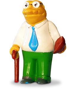 Simpsons Fan Señor Topo Y Todos Los Personajes De La Serie Los Simpsons Con Fotos Dibujos Y Mucha Información